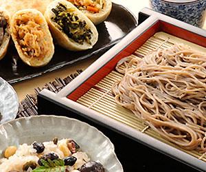 長野県信寿食・信州のおやき・田舎そば・おこわセットプレゼント