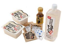 温泉湯豆腐と佐嘉湯の華雑炊セット